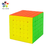 2018 YUXIN Professional Rubiks Cube 6x6x6 Competition Magic Speed Cube Twist Puzzle Toys For Children Gift Neo Cubes Fidget Cube