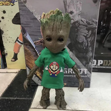 26CM Marvel Guardians of The Galaxy Avengers 1:1 Cute Baby Grout Tree Man BJD Joints Moveable Hot Toys Action Figure Toys 26cm(China)