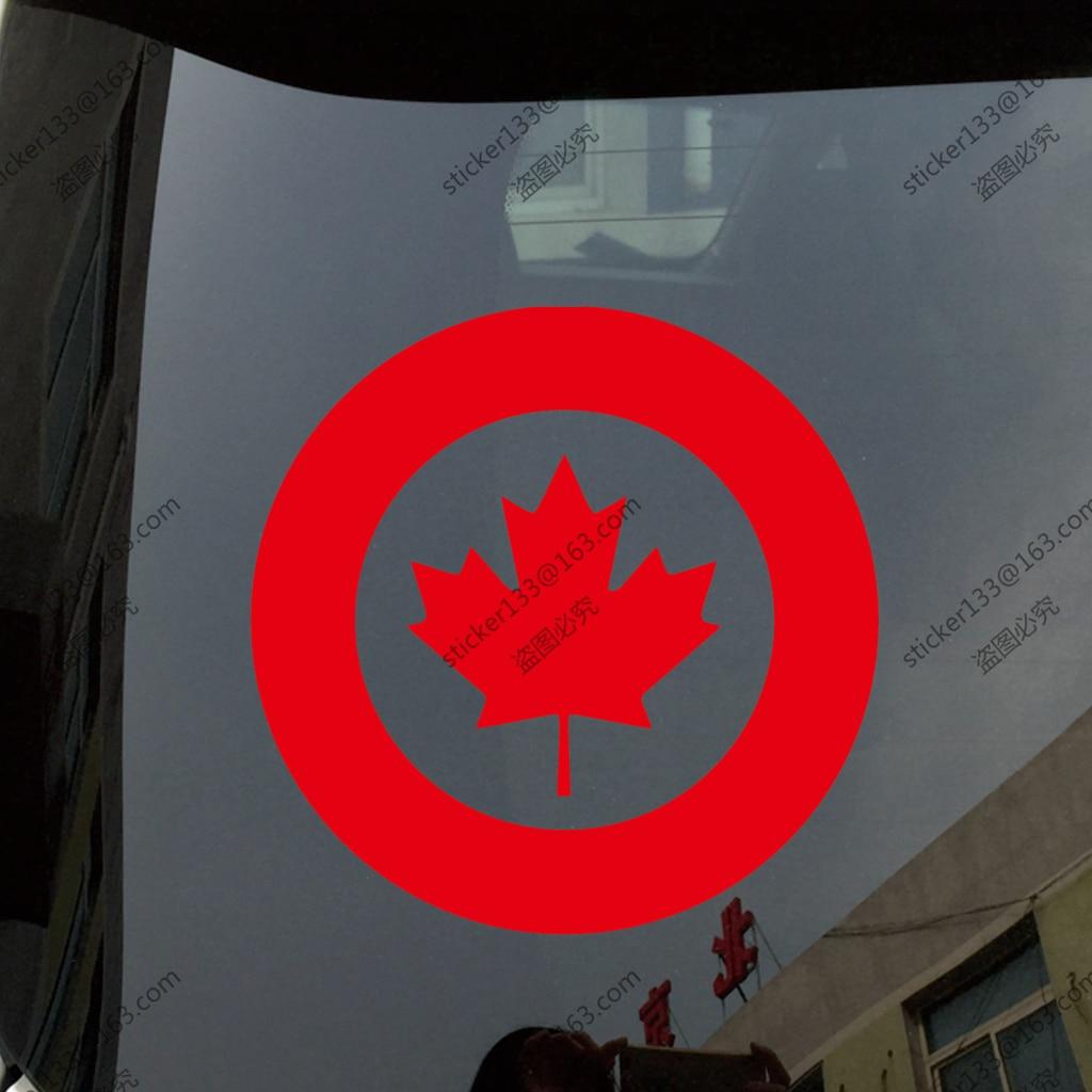 Bumper sticker creator canada - Rcaf Royal Canadian Air Force Canada Military Car Truck Decal Sticker Vinyl Die Cut China