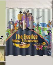 Perfect NANAZ The Beatles Yellow Submarine Design Polyester Fabric Shower Curtain  180x180cm Waterproof Mildewproof Shower Curtains