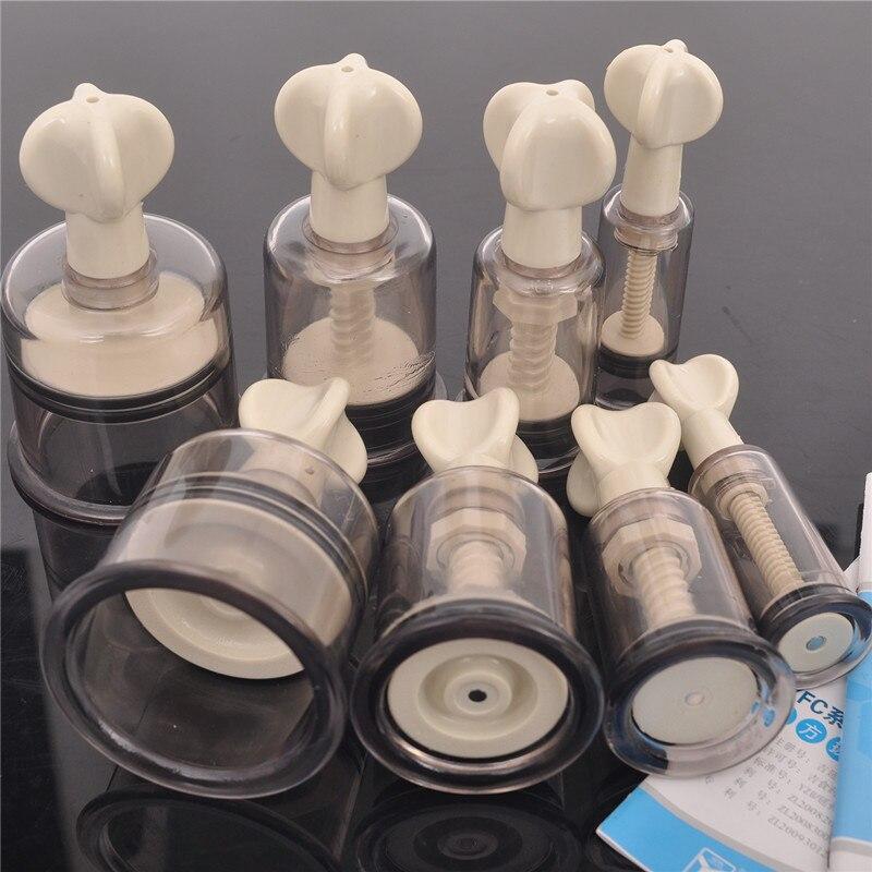 Ручные завинчивающиеся вакуумные магнитные массажные вакуумные банки антицеллюлитный набор магнитных акупунктурных 8 банок
