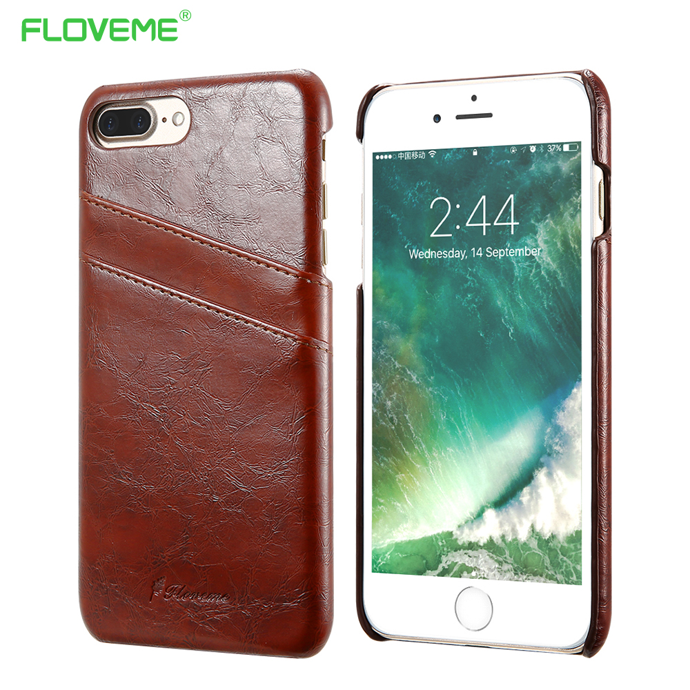 FLOVEME Luxury Leather Case For iPhone 6 6s Plus Phone Cases Fashion ...