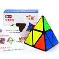 Shengshou 2x2x2 Triângulo Pirâmide Pyraminx Magic Cube Velocidade Enigma Torção cubo de rubick Cubos Cubiks Juguetes Educativo