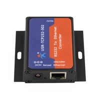 USR-TCP232-302 RS232 a convertidor de TCP IP Serial a Ethernet compatible con DNS DHCP webage integrado