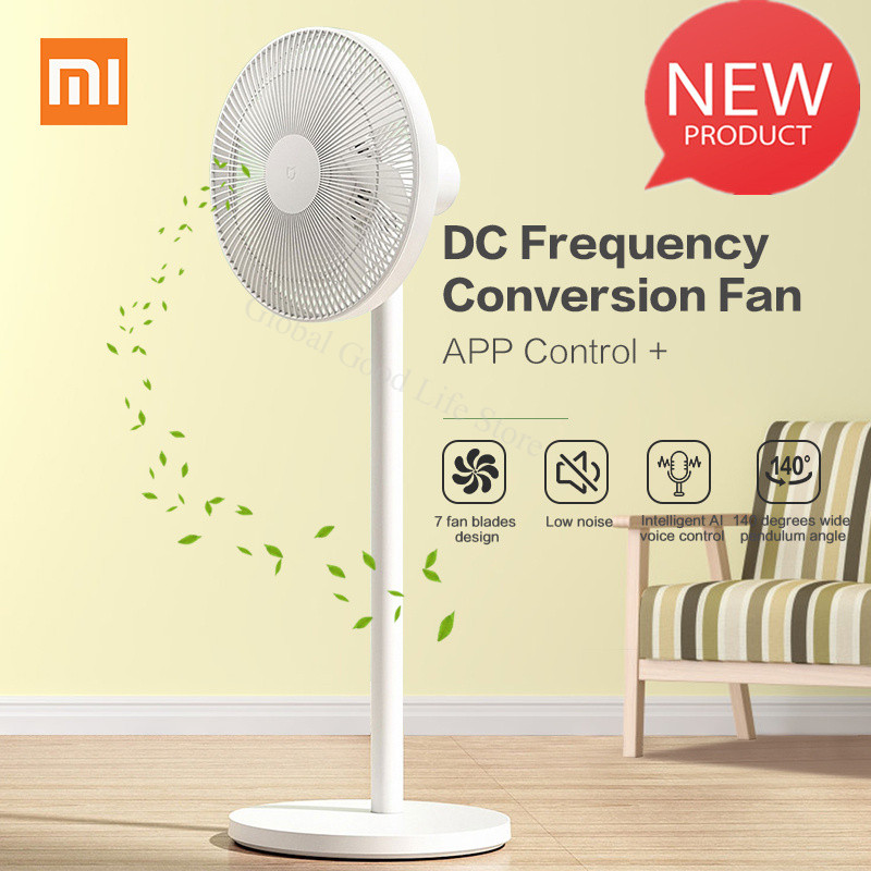Original Xiaomi Mijia 1X DC Frequency Conversion Fan APP Control For Home Cooler Floor Standing Fan Air Conditioner Natual Wind