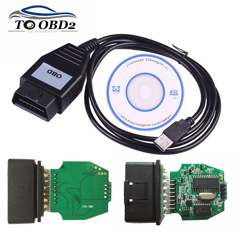 Professional For FoCOM MINI VCM Device USB Interface For Mazda For Ford VCM OBD Obd2 Diagnostic Cable Support Multi-language
