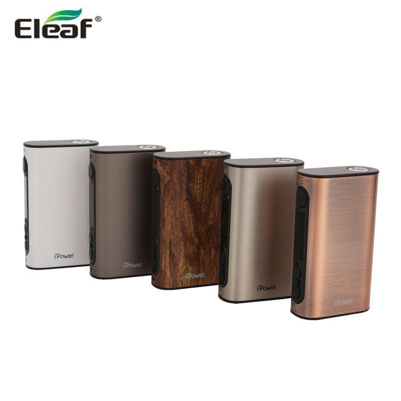 Original Eleaf iPower Battery 5000mAh New Firmware With Smart Mode iPower TC 80W Box Mod Electronic Cigarette Vape
