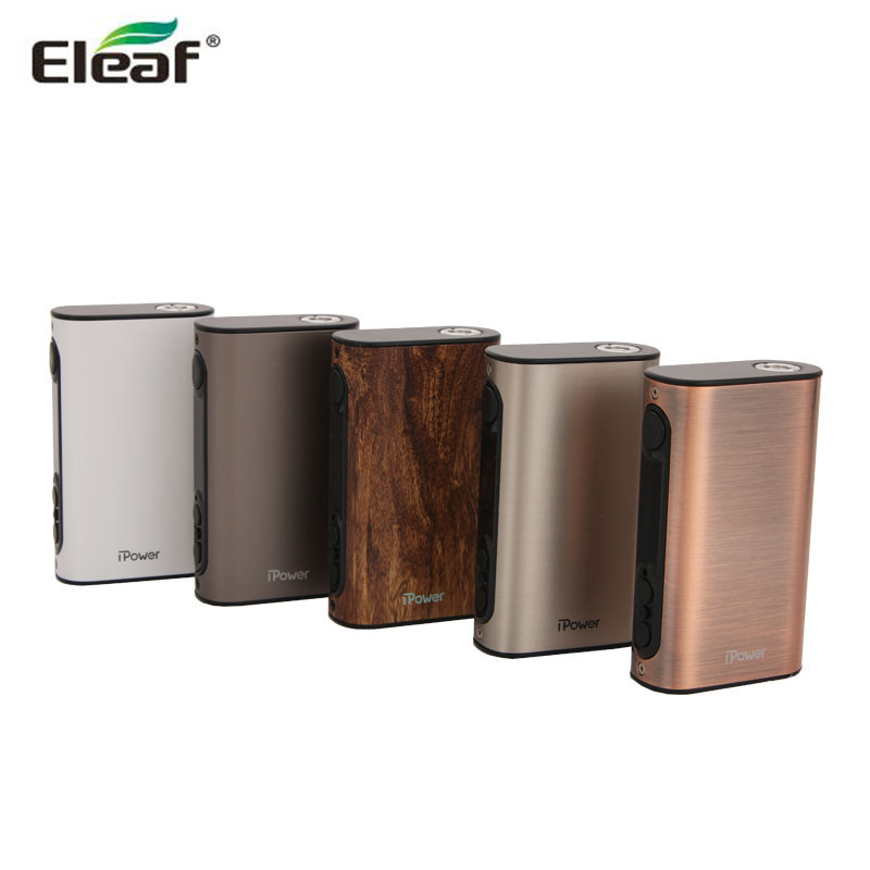 Original Eleaf iPower Battery 5000mAh New Firmware With Smart Mode iPower TC 80W Box Mod Electronic Cigarette Vape ipower