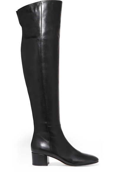 New Women Over the Knee Boots Block Heel Concealed Side Zip Black Handmade Support Custom US Size 4-17 peter block stewardship choosing service over self interest