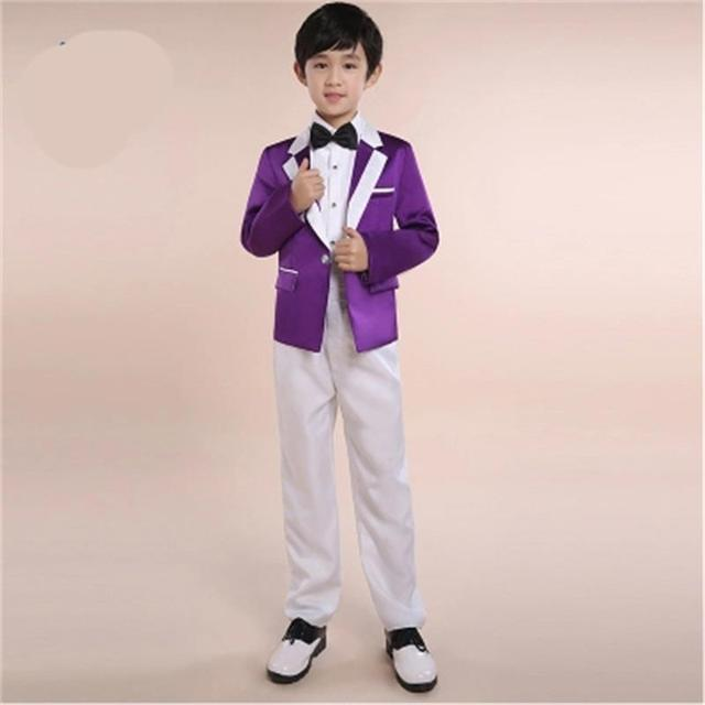 9a08408c678d5 US $33.59 44% OFF|8 colors optional fashion baby boys suit kids blazers boy  suit for weddings prom formal spring autumn wedding dress boy suits-in ...