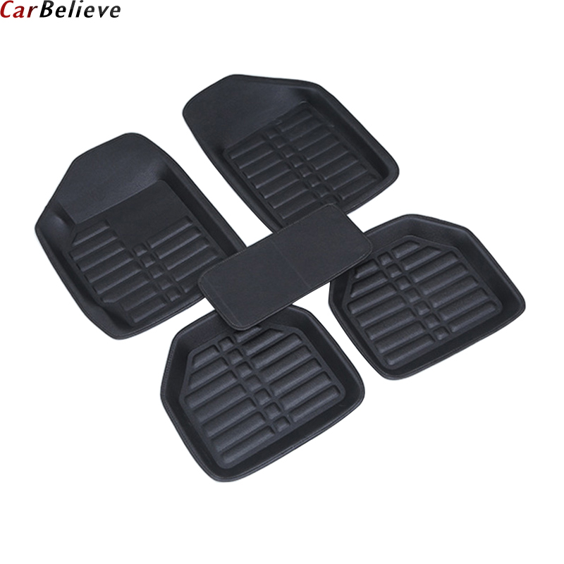 Car Believe car floor Foot mat For bmw f10 x5 e70 e53 x4 f11 x3 e83 x1 f48 e90 x6 e71 f34 e70 e30 waterproof accessories carpet бра odeon light zefiro 3932 1w