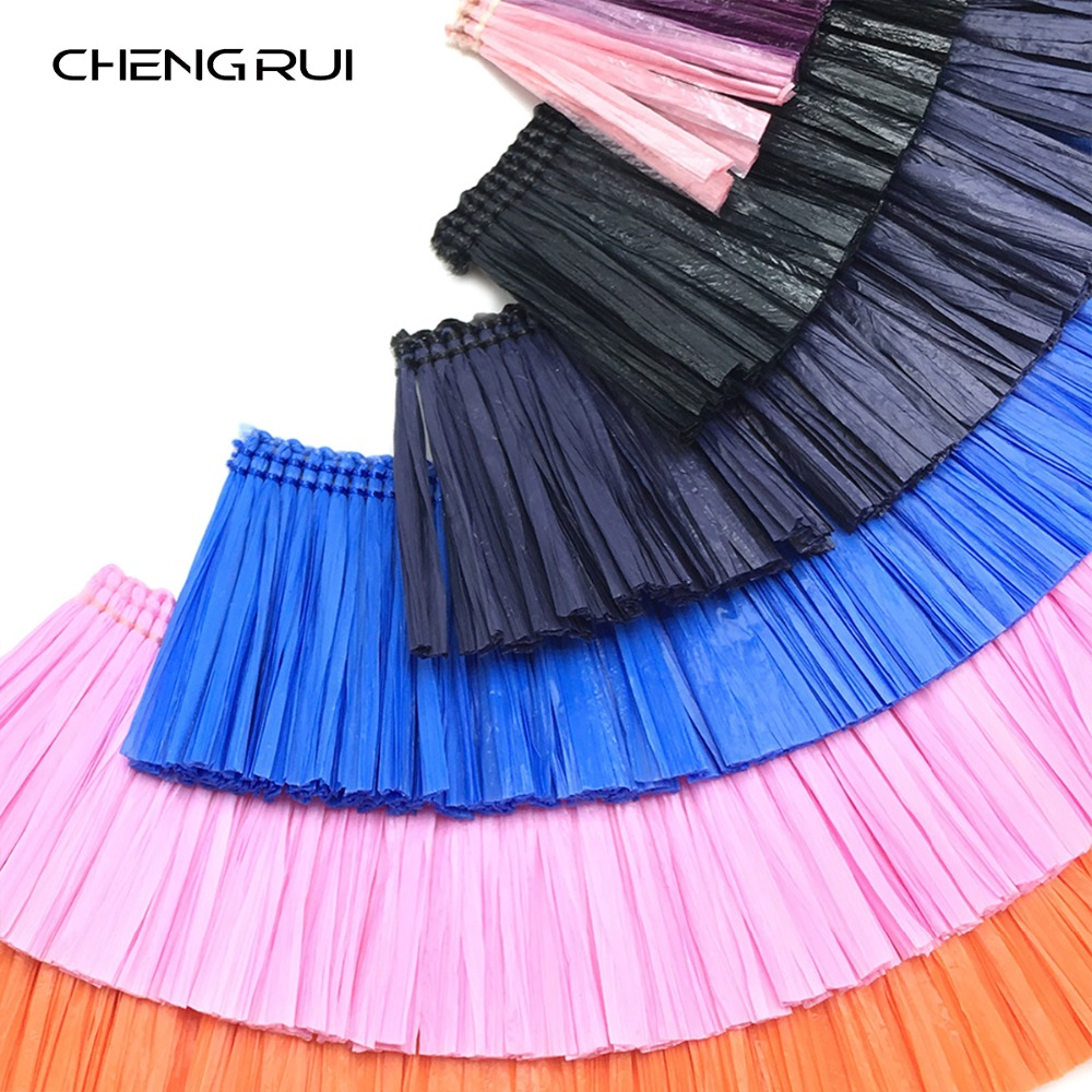 CHENGRUI L161 1m,tassel,lafite Grass,beaded Fringe Trim,fringe For Decoration,trimmings And Tassels,tassel Trim,1pcs/bag