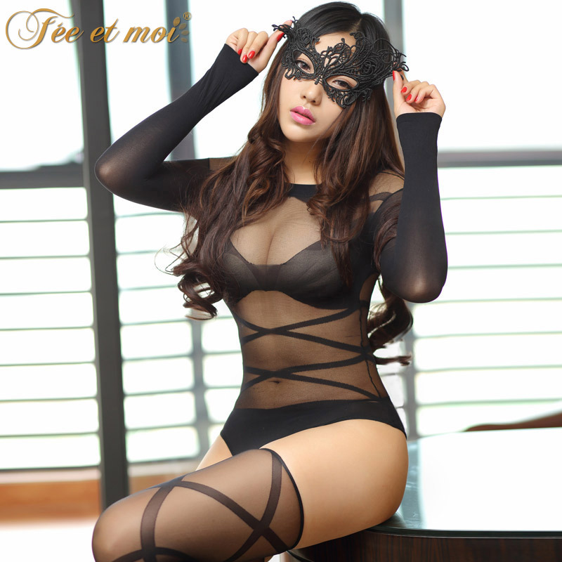 fantasy Cat Lady cosplay Lace fishnet bow Catwoman Sexy Lady Uniform sexy role Costumes bunny for porn Adult sm Sex Games erotic image
