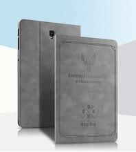 Чехол для Samsung Galaxy Tab S4, 10,5 дюйма, Φ 10,5 дюйма, T835 T830, ретро Чехол из искусственной кожи с рисунком оленя, ПК, чехол-подставка