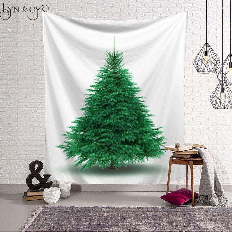 Large Christmas Tree: Christmas Tree Tapestry Wall Hanging Bohemian Home Decor