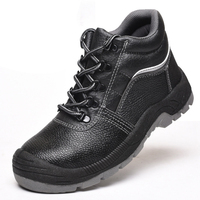 Steel toe cap safety shoes anti puncture puncture resistant oil and acid resistant safety boots protective shoes