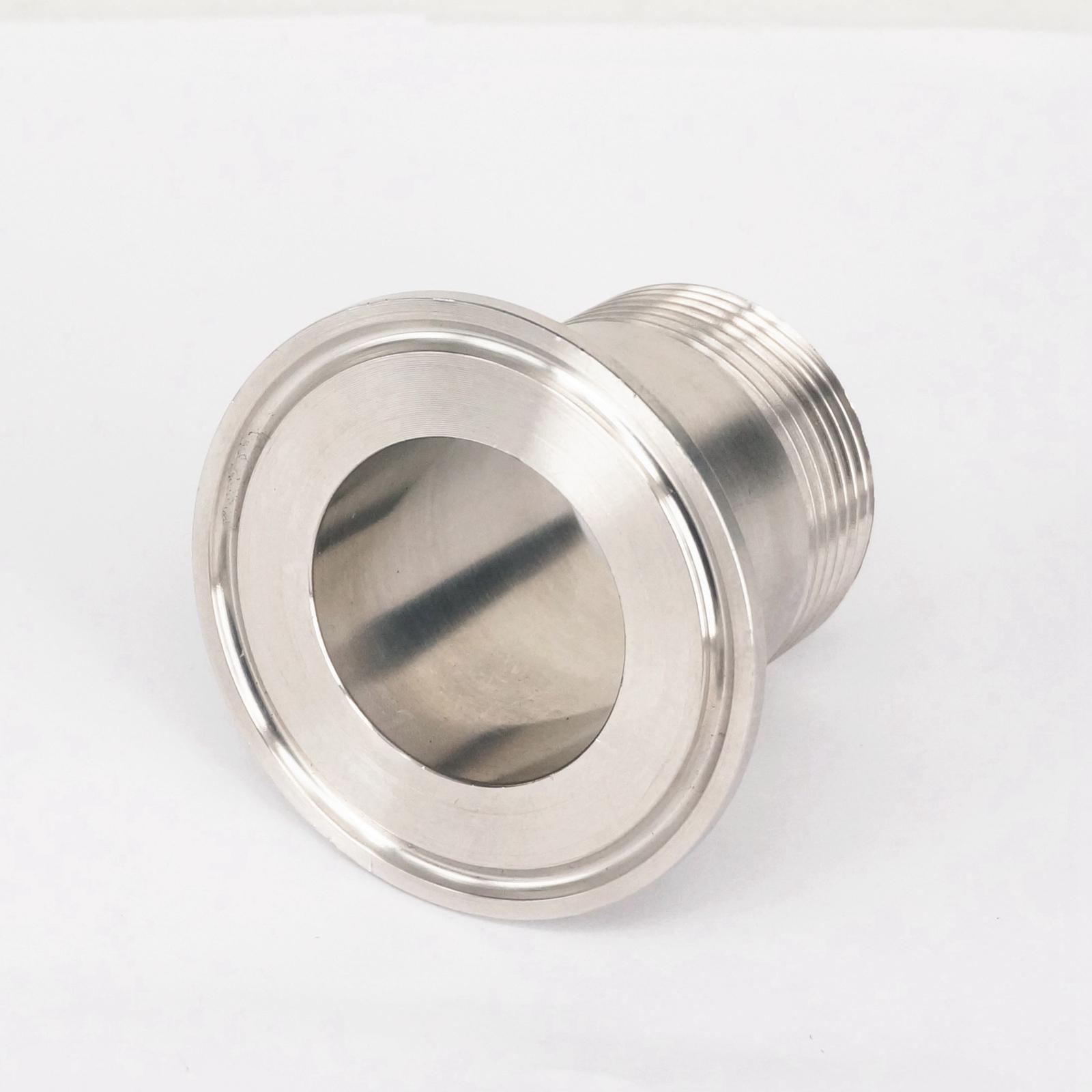 Quot bsp male mm ferrule o d stainless steel