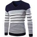 М-2XL осень зима свитер вязаный свитер мужчин мужчины марка 2016 стильная мужская пуловер перемычка потяните homme марка