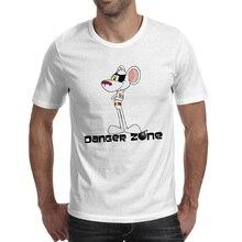 Danger Mouse T Shirt Funny Nostalgic Cartoon Anime Casual T-shirt Skate Rock Brand Unisex Tee