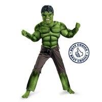 Hulk Avengers Classic Muscle Child Costume Superhero Dress Up Kids Carnival Fancy Party Dress