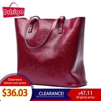Bvlriga Famous Brand Genuine Leather Handbag Women Bag Female Shoulder Bag Women Bag Lady Summer Bag Briefcase Big Sac A Main