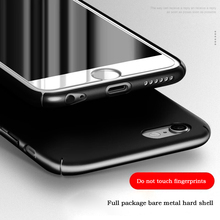 LuckGuard For iPhone 6 6S Plus Case Ultra Thin Slim PC Cover For iPhone7 iphone 7 Plus Luxury Back Accessories Cover Capa Funda