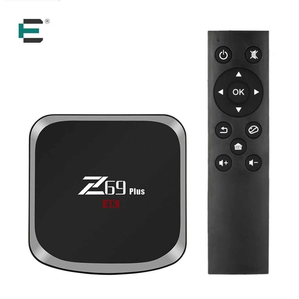 Z69 Plus Android 7.1 3GB RAM 64GB ROM Smart TV Box Amlogic S912 Octa-core 2.4G/5G WiFi VP9 H.265 HDR 4K Media Player Set-top box