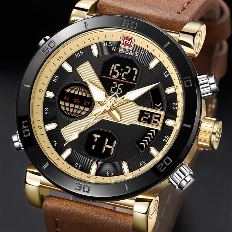 NAVIFORCE Relojes para hombre de nueva llegada Military Waterproof - Relojes para hombres - foto 1