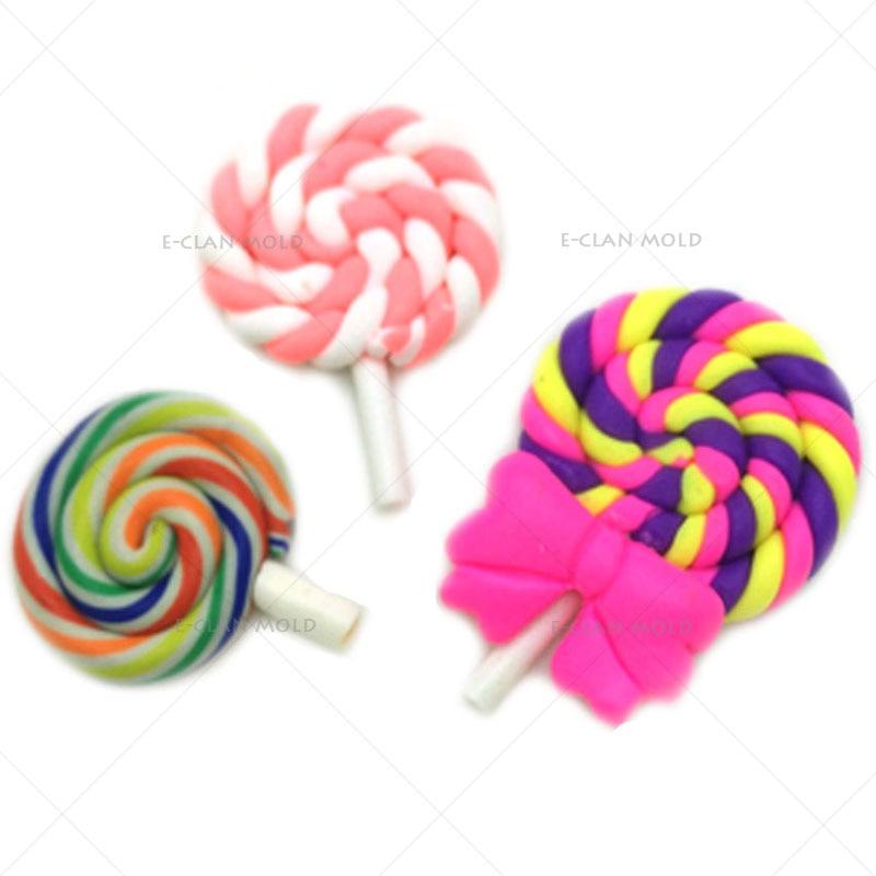 ახალი Lollipop cupcake fondant ჩამოსხმის - სამზარეულო, სასადილო და ბარი - ფოტო 2