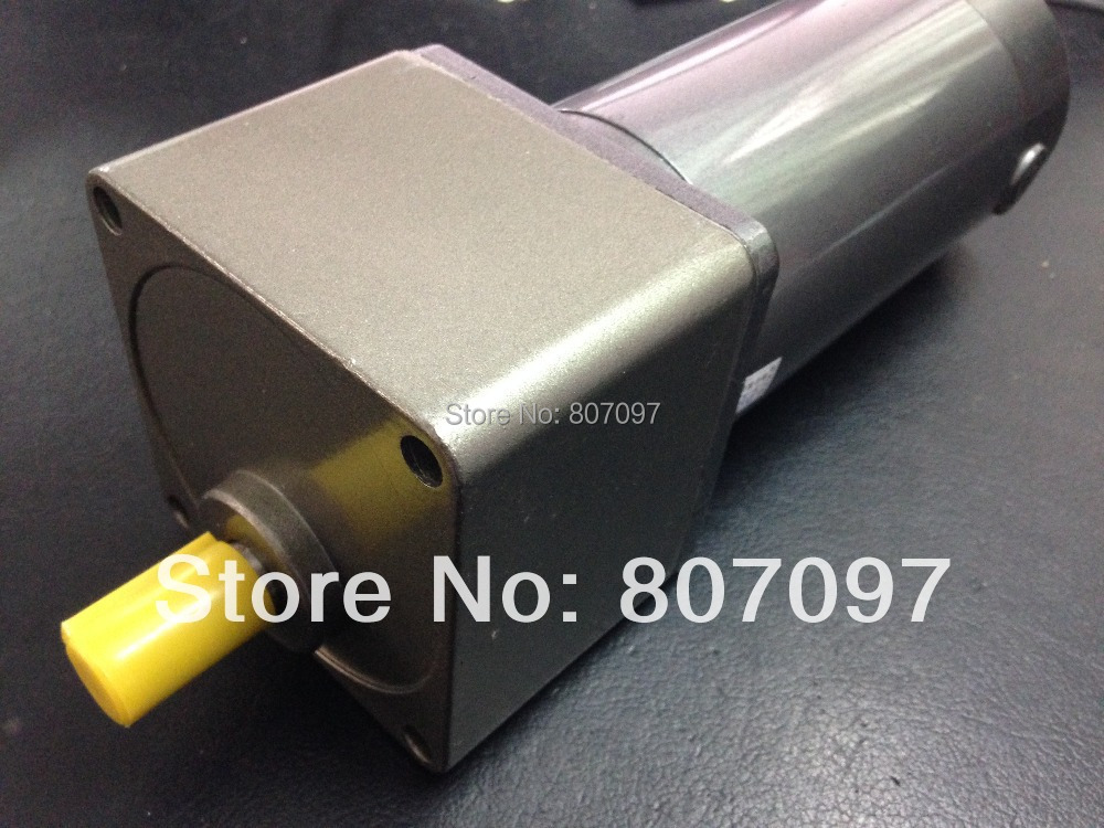 DC 24V 200W DC Spur Gear Motor with 1:180/150/120/100/90/75/60/50/40/36/30/25/20/18/15/12.5/10/7.5/6 Gear Head Reduction Ratio