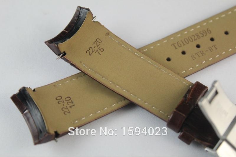 22mm (pannal 20mm) T035410A T035407A kõrge kvaliteediga hõbedane - Kellade tarvikud - Foto 4
