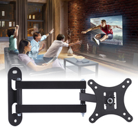 10 37 Inch Display Bracket Telescopic Racks LCD TV Stand Retractable Frame Rack Adjustment Function Home