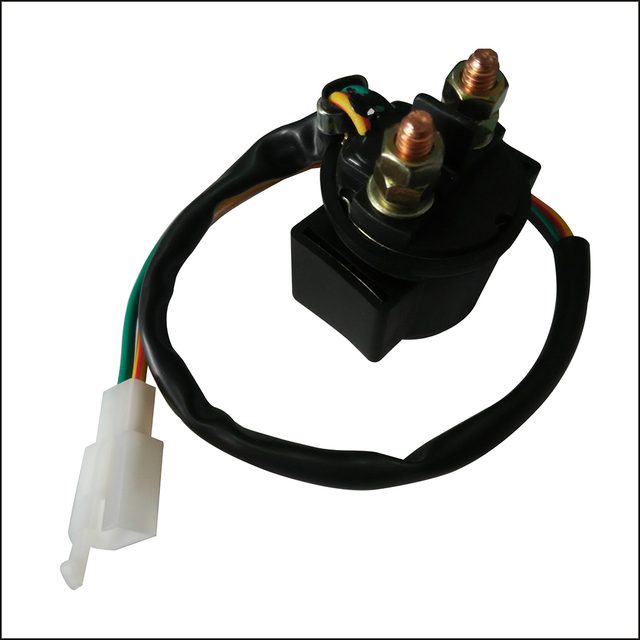Motorcycle Spare Part Starter Solenoid Relay for GY6 50cc 125cc