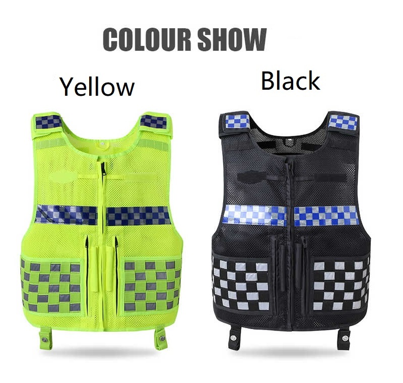 Thickening High Quality Cycling Reflective Vest Working Multi-Pocket Traffic ClothingThickening High Quality Cycling Reflective Vest Working Multi-Pocket Traffic Clothing