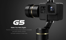 Presell !!! Feiyu G5 Handheld Gimbal for GoPro HERO5 5 4 Xiaomi yi 4k SJ AEE Action Cams Splashproof Bluetooth-enabled Humanized