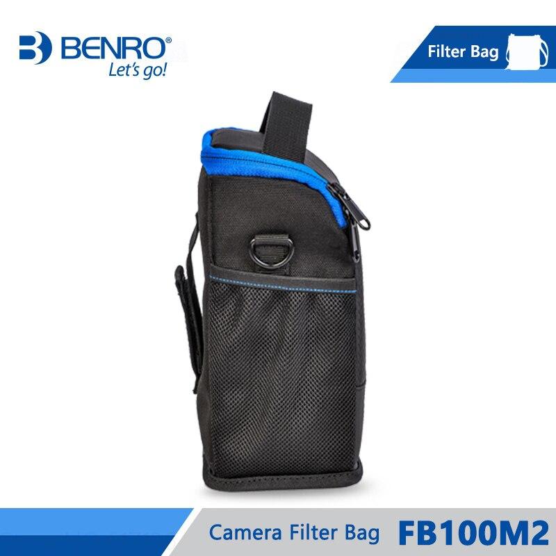 Image 3 - Benro FB100M2 Filter Bag Storage Filters holder For 4pcs Square  Filters 3pcs Round Filters Nylon Bag Frss Shippingbenro bagbag  forholder for