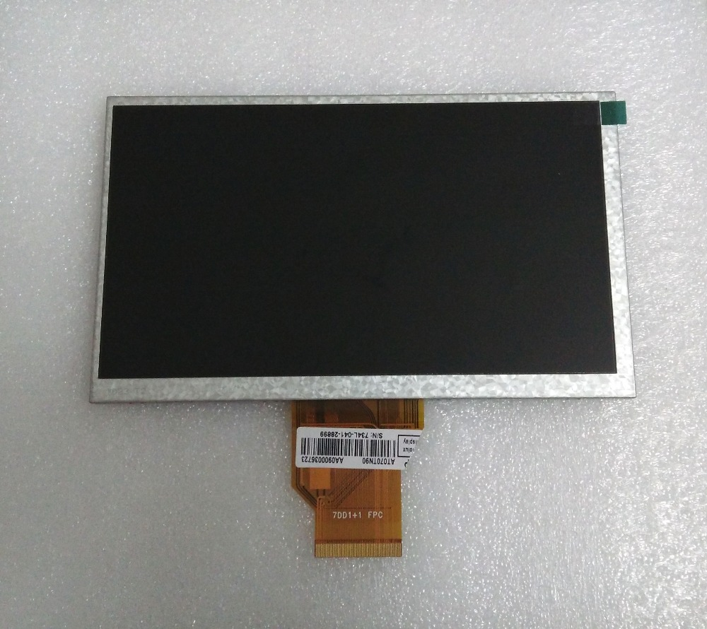 New 7 Inch Replacement LCD Display Screen For Digma iDj7 3G tablet PC Free shipping original 7 inch tablet pc lcd display ba070ws1 401 lcd screen replacement free shipping
