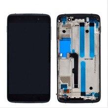 Mới Thử Nghiệm Cũng 5.2 Inch Cho Blackberry DTEK50 DTEK 50 STH100 1 2 Màn Hình Hiển Thị LCD + Màn Hình Cảm Ứng Kính Cường Lực Bộ Số Hóa khung