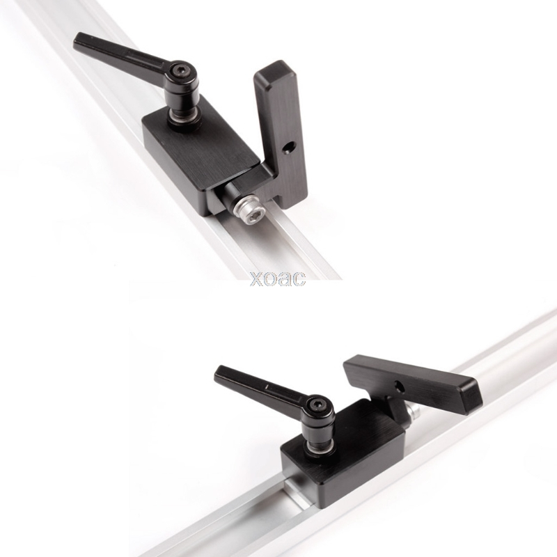 Woodworking DIY Tools Miter Track Stop For T-Slot T-Tracks Manual Durable In Use M13 dropship