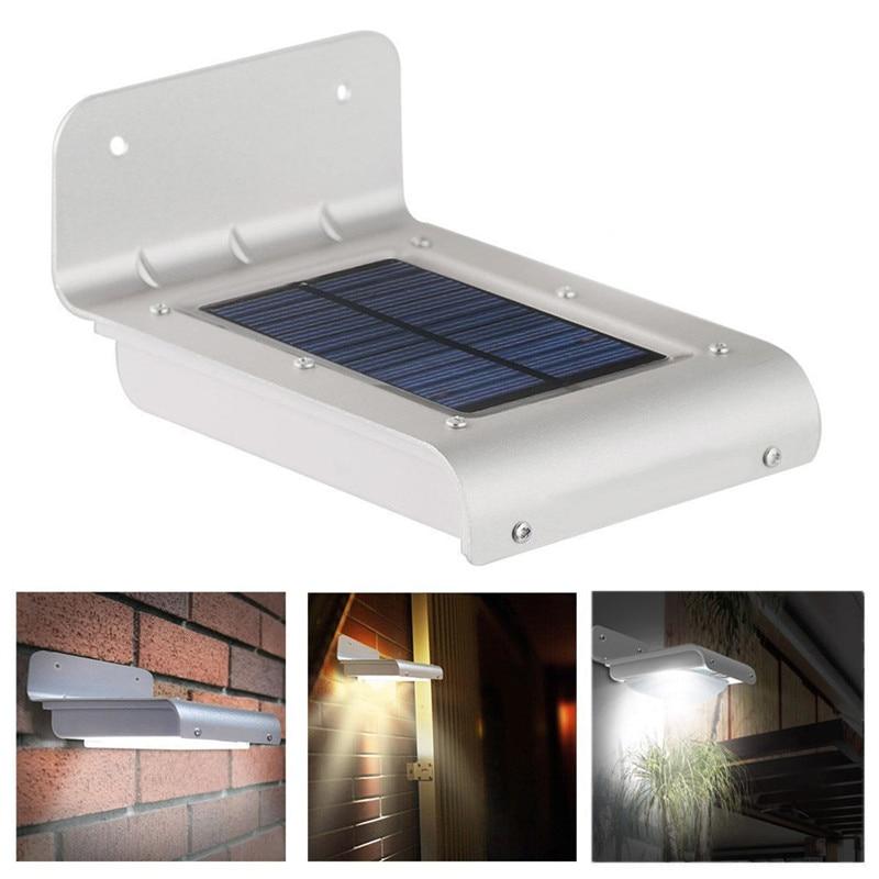 Snowshine3 #3001 Открытый гаджеты кемпинг огни 16 LED Solar Power Motion Sensor Сад Безопасность Лампы бесплатная доставка дд