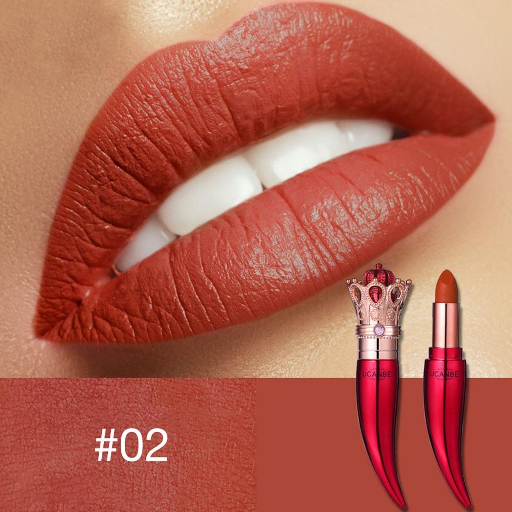 Губная помада стойкая матовая королевская стильная Косметическая портативная Мода для женщин@ ME88 - Цвет: 2
