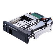 Uneatop ST7221 2.5+3.5 inch Dual Bay 2-bay SATA HDD Rack Enclosure Case