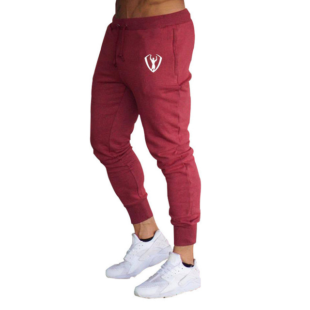 Casual Men's Workout Elastic Pants 8