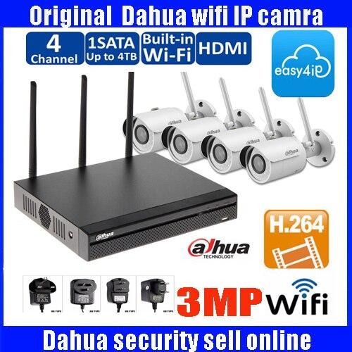 DAHUA wifi IP Camera System HD 720P Camera IP Wireless IR Night Vision Waterproof Outdoor Wifi