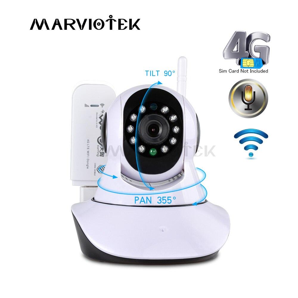 720P Wireless IP Camera wif camera wifi Video surveillance 360 degree Pan Tilt 4G cctv camera