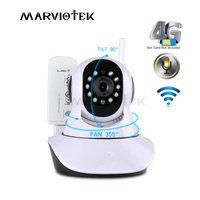 720P Wireless IP Camera wi fi alarm wifi camera surveillance 360 degree Pan Tilt 4G cctv camera 3G with sim card slot ipcam IR