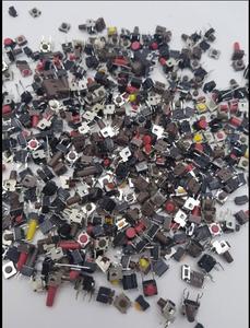 Image 2 - 100g gemischt takt schalter kupfer mixed elektronische komponente paket