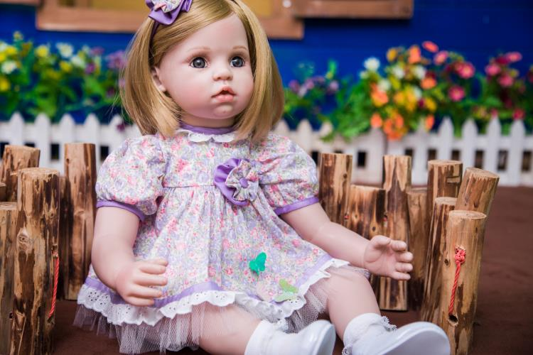 60cm high quality Silicone Reborn Baby Doll Toys Like Real 24inch Vinyl Princess Toddler Girls Babies Dolls Birthday Xmas Gift60cm high quality Silicone Reborn Baby Doll Toys Like Real 24inch Vinyl Princess Toddler Girls Babies Dolls Birthday Xmas Gift