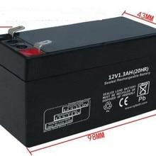 12V 1.3AH свинцово-кислотная Батарея VRLA аккумуляторные батареи вентильно регулируемых свинцово-кислотная батарея