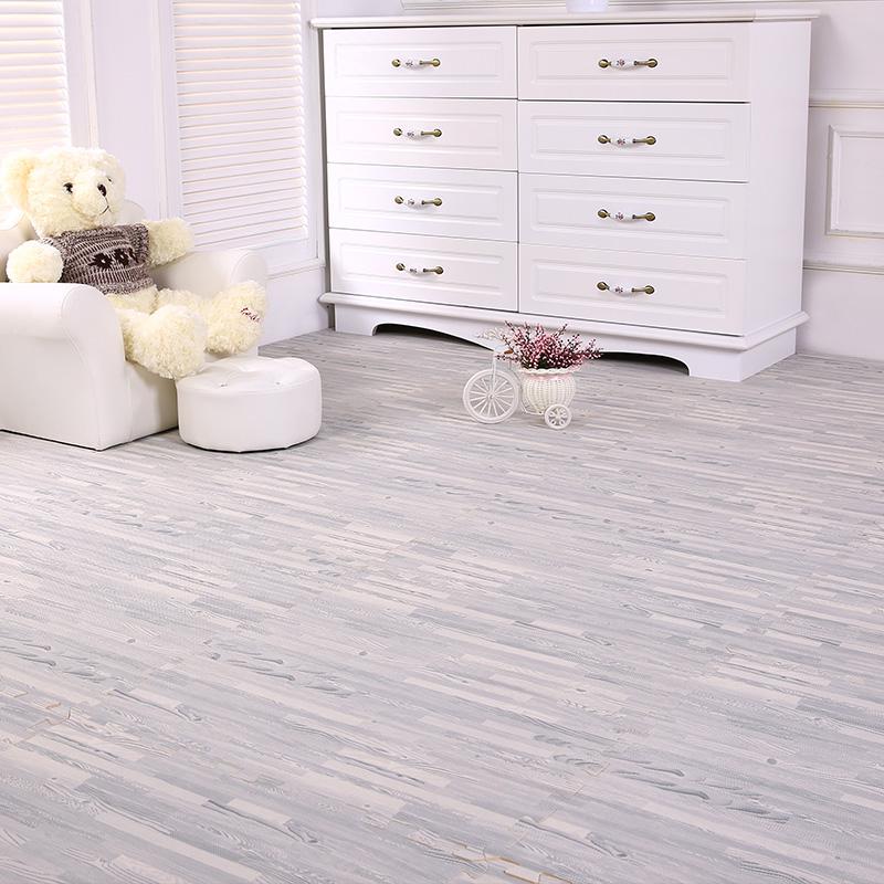 9 Pieces Home Flooring Foam Mat Tile Grey Wood Grain Foam Mat Home